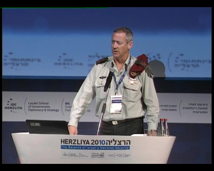 Benny Gantz about the Iraninan Nuclear project