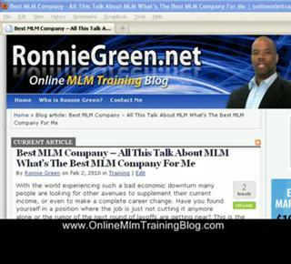 Best MLM Company