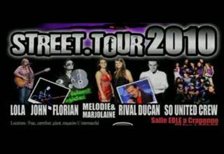 "ECHOS-LIES  presente ""Street Tour 2010"""