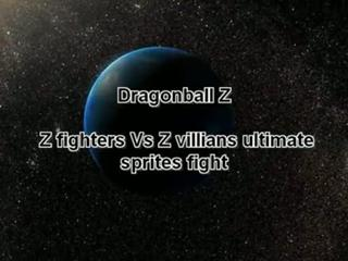 DBZ Z fighters vs z villians