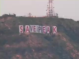 Hollywood Sign: SAVE THE PEAK UniqueNews Niswander