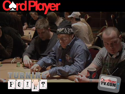 Turning Point - Poker Pro Gavin Smith at NAPT Venetian Day 1