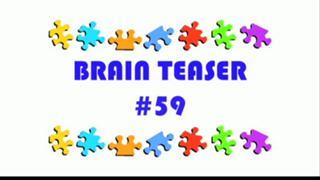 Video Brain Teaser #59