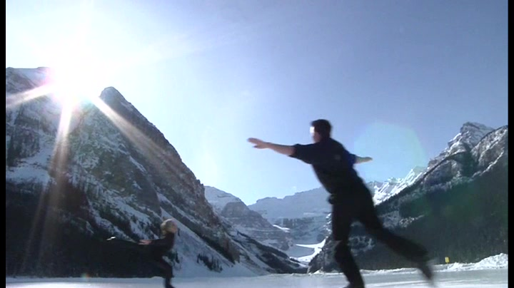 Elemental, the Outdoor Ice Skating Show at Lake Louise