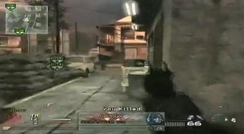 MW2-AMAZING Knife Throw- Modern Warfare 2 (ORIGINAL)