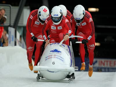 Watch Olympics Bobsleigh Four Man Heat 3 HD stream
