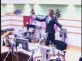 SuJu- Eunhyuk and Eeteuk perf. Tic Toc @ radio show!