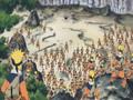 Naruto vs. Temujin (Chakra vs. Gelel)