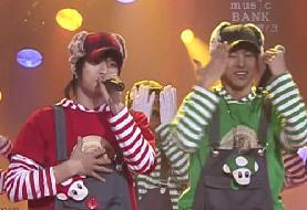 061210 - KBS  Music Bank - Balloons Super Mario Bros.avi