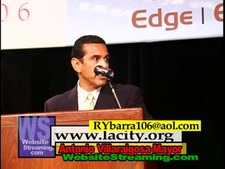 Antonio Villaraigosa Speaks at CA Construction Expo 2006