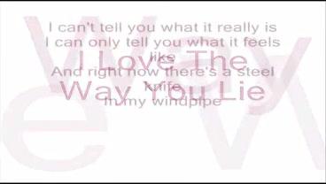 Eminem ft. Rihanna - Love The Way You Lie + LYRICS