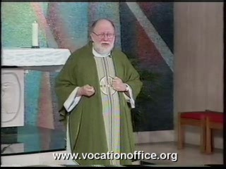 Catholic priest preaches on sin and salvation
