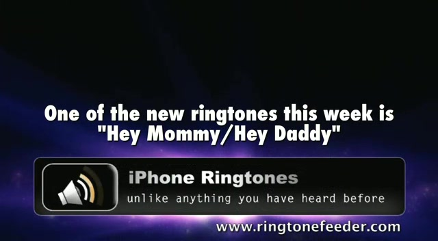 RTF#140: Hey Mommy Ringtone