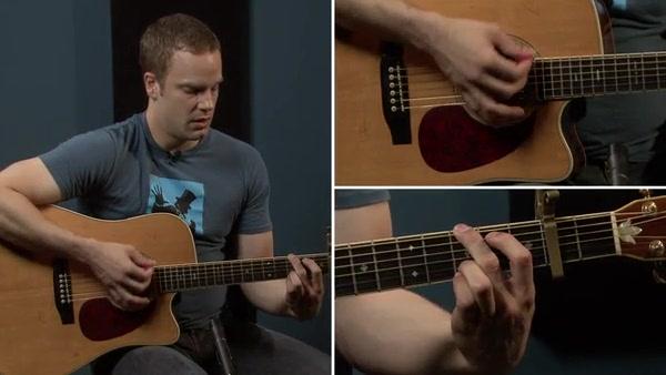 Oasis Wonderwall Guitar Lesson (Part #2 of 2)