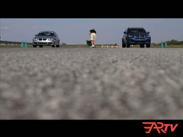 BMW Performance Driving School: M3 -vs- X5 M
