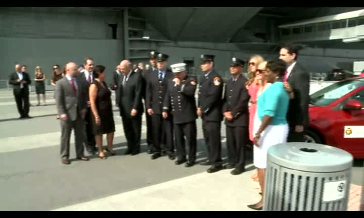 GM Donates to 9-11 Heroes Run: Soldiers & First Responders Honored