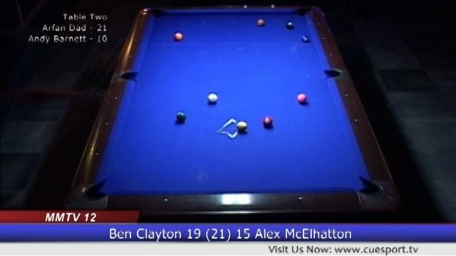 9-Ball Break & Runs: MMTV 12