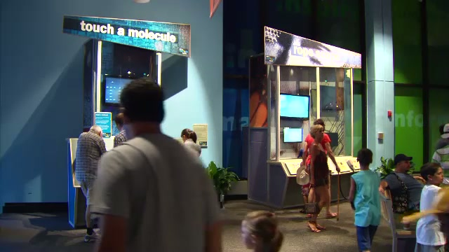Zoom into the Nanoscale at Epcot's Nanotech Exhibit