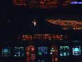 A 340 night landing