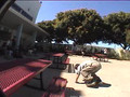 Funny Videos - Dumb ass Rollerblader!.mpeg