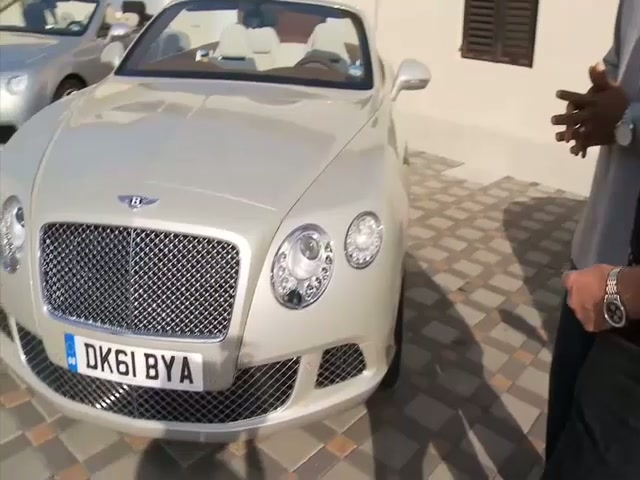 2012 Bentley Continental GTC test drive in Croatia