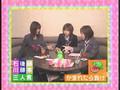 Morning Musume - Maki Goto, Rika Ishikawa & Miki Fujimoto in a Karaoke Room(Singing Shabondama)