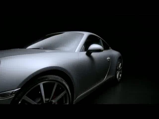 2012 Porsche 911 Carrera Design Film