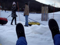 Live Action Snow Tubing