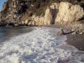 Varsamos Beach on Samos Island/Greece