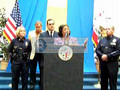 Homeless dumping Press conference