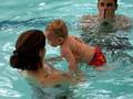 My first swim lesson