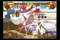 Blues(TS sasuke) vs Kurogane(TS naruto):round 1