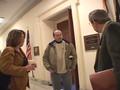 Congressman Obey meets Tina Richards
