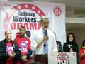 Barack Obama Rally At Las Vegas Culinary Union: Part 5