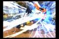 Blues(TS sasuke) vs Kurogane(TS naruto):round 2