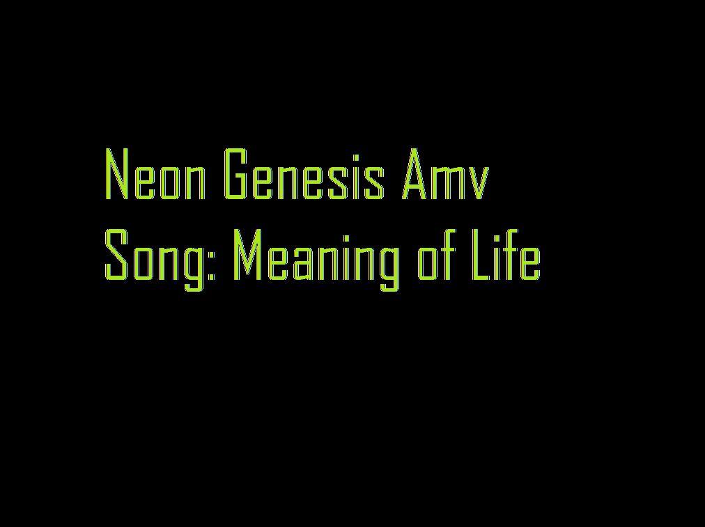 Neon Genesis AMV