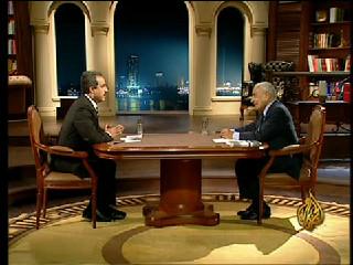 Aljazeera Ma3a Hikal Special Episode almalafat alsyaseya fe 3am mofze3 Year 2005 Analysis