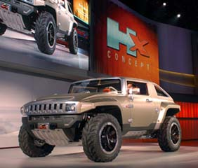 HUMMER HX Concept: Everything is Removable!