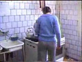 Head cooking on stove prank