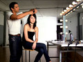 How to: Turn long-layered hair into a bob!