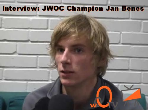 Interview Jan Benes, JWOC Champion