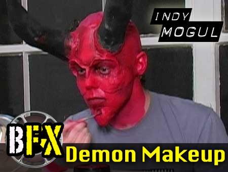 Create Realistic Devil Makeup for Cheap