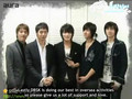 DBSK-S.M. Making a Star UCC Contest Message
