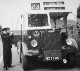 BUS RALLY IN DOWNPATRICK IN 1991