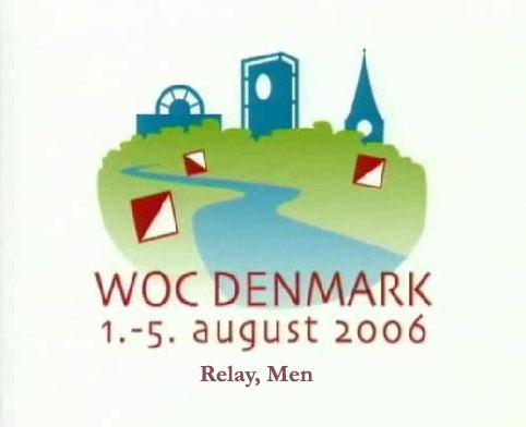 WOC 2006 Relay, Men
