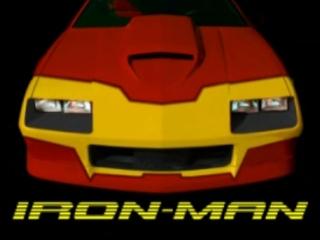IRON-MAN Car Camaro IROC-Z  iron man