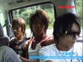 Coat west boys being dorks in a car ^__^