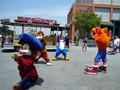 Universal Studios Mascot Performance
