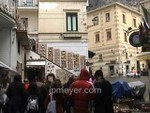Italy travel: Amalfi Coast walking around the town square of Amalfi