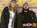 jay and silent bob doying what they do best talking shit